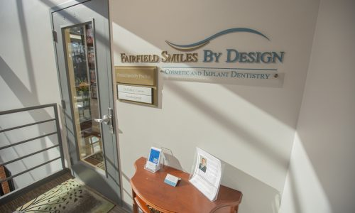 Front door of Fairfield Smiles by Design in Fairfield, CT