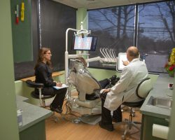 Patient room from Fairfield Smiles by Design in Fairfield, CT